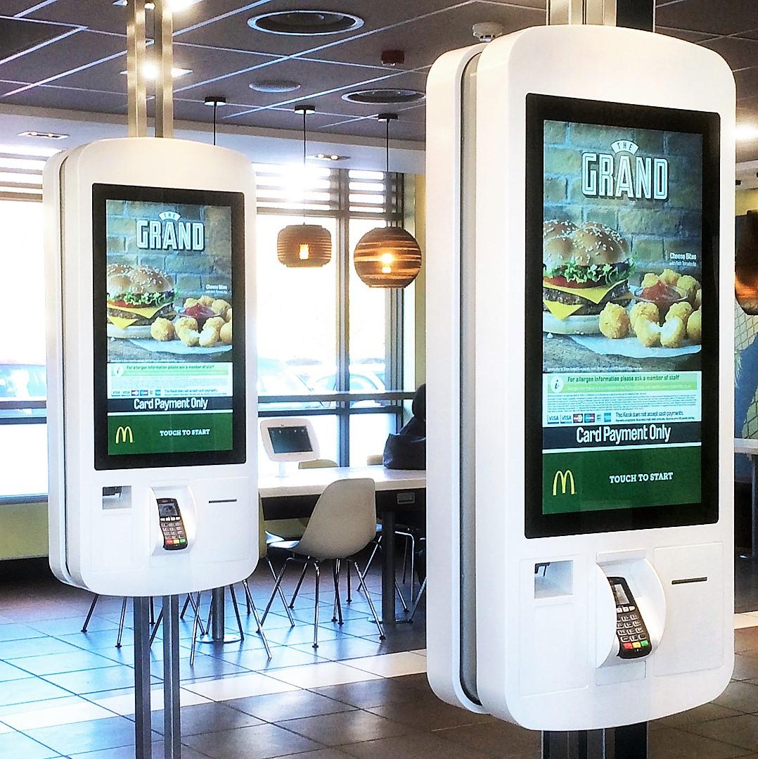 McDonalds Self Service - Evoke
