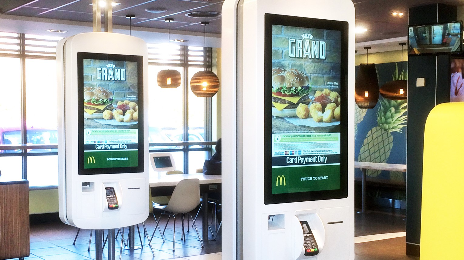 McDonalds Self Service - Evoke