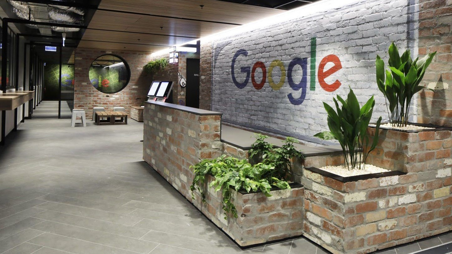 google reception desk 2