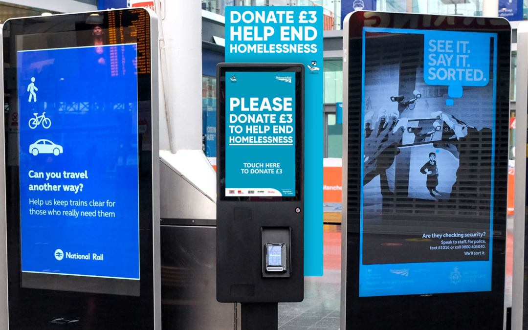 How digital kiosks offer a new way to engage and inspire donations