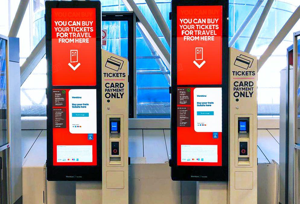 New Self-Service Kiosk For the Gatwick Rail Station